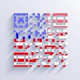 Vector usa flag background. Eps10 Stock Photos