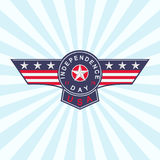 Vector USA Independence Day background. 4th of July background. Stock Photo