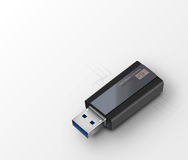 Vector USB flash drive. Vector illustration of USB flash drive Royalty Free Stock Photos