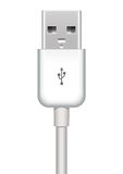Vector usb plug Royalty Free Stock Photo