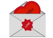 Vector Valentine Royalty Free Stock Images