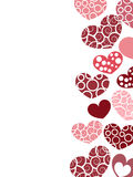 Vector valentine background Stock Photography