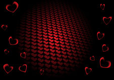 Vector valentine background Royalty Free Stock Image