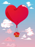 Vector valentine card Royalty Free Stock Photography