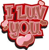 Vector Valentine card Stock Photo