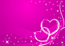 Vector valentine card Stock Images