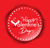 Vector valentine day Text banner Background Stock Photos