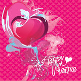 Vector valentine greeting card and poster Stock Photo