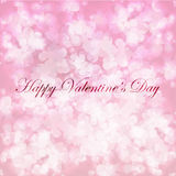Vector Valentine greetings card Stock Images