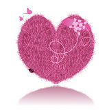 Vector valentine heart Royalty Free Stock Photography