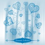 Vector Valentine's Day background Royalty Free Stock Photography
