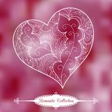 Vector Valentine's Day background Stock Photo