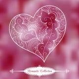 Vector Valentine's Day background Stock Photo
