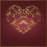 Vector valentine's day backgrownd Royalty Free Stock Photo
