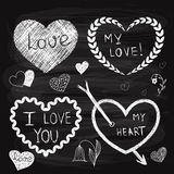 Vector Valentine's Day Design Elements Stock Photo