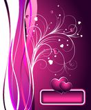 Vector Valentine's day illustration Royalty Free Stock Photos