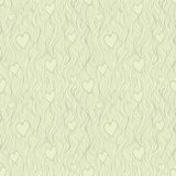 Vector valentine seamless pattern in retro subdued Stock Photography
