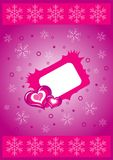 Vector Valentines background Royalty Free Stock Photos