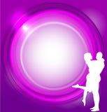 Vector Valentines background Stock Image
