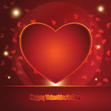 Vector valentines day background. Eps10 Stock Photo