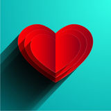 Vector valentines day background. Eps10 Royalty Free Stock Photos