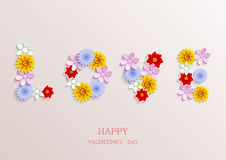 Vector valentines day background. Eps10 Stock Photos