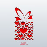 Vector valentines day background. Eps10 Royalty Free Stock Image