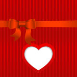 Vector Valentines day card. Royalty Free Stock Images