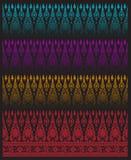 Vector van de patroon de Thaise traditie Stock Foto's