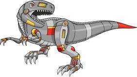 Vector van een Dinosaurus van t-Rex van de Robot Royalty-vrije Stock Afbeeldingen