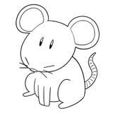 Vector van muis royalty-vrije illustratie