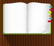 Vector van Notaboek Royalty-vrije Stock Afbeeldingen