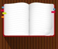 Vector van Notaboek Royalty-vrije Stock Afbeelding