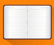 Vector van Notaboek Stock Afbeelding