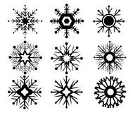 Vector van Sneeuwpictogram Stock Foto