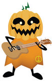 Vector - Vector Halloween scary with the guitar Stock Photo