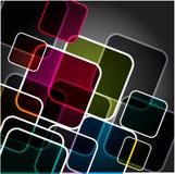 Vector veelkleurige achtergrond Stock Afbeeldingen