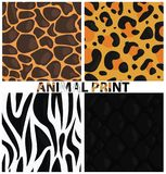 Vector Animal print. Animal texture. Animal pattern stock illustration