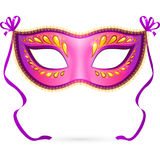 Vector venitian Carnaval masker stock illustratie