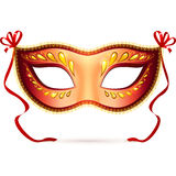 Vector venitian carnival mask Stock Photography