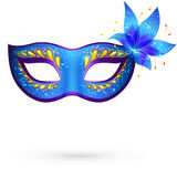 Vector venitian carnival mask Royalty Free Stock Image