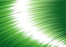 Vector verde de la reflexión de la chispa Fotos de archivo libres de regalías