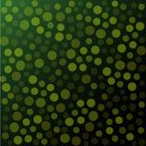 Vector verde de los puntos Imagen de archivo libre de regalías