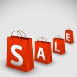 Vector verkoopaffiche Royalty-vrije Stock Foto