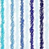 Vector verticaal gestreept naadloos patroon Stock Afbeelding