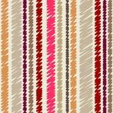 Vector verticaal gestreept naadloos patroon Royalty-vrije Stock Foto