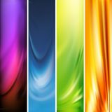 Vector vertical banner Royalty Free Stock Photos