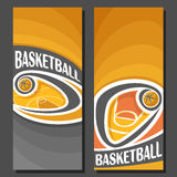 Vector vertical Banners for Basketball Stock Photo