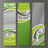 Vector Vertical Banners for Field Hockey Stock Photos