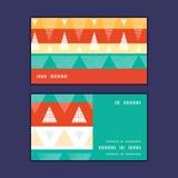 Vector vibrant ikat stripes horizontal stripe Royalty Free Stock Image